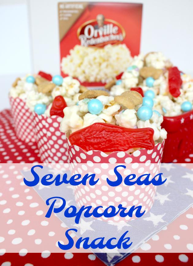 Seven Seas Popcorn Snack Recipe & Kroger Mega Event