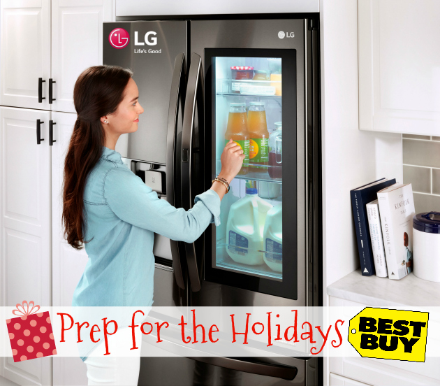 LG Appliances at Best Buy ~ Prep for the Holidays