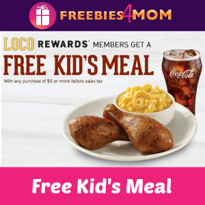 Free Kid's Meal at Pollo Loco on Halloween