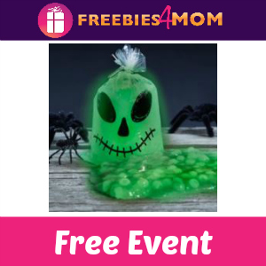 Free Glow-in-the-Dark Slime Event at Michael's