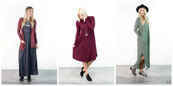 Fall Dresses Starting at $21.95
