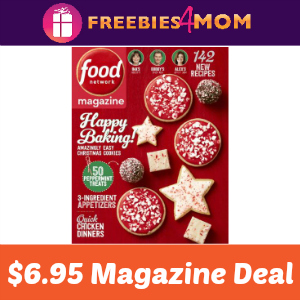 Magazine Deal: Food Network $6.95