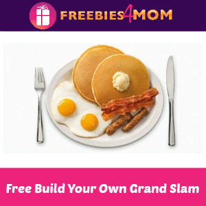 Free Build Your Own Grand Slam at Denny's