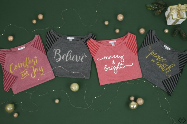 2 Holiday Tees $30 ($70 value)