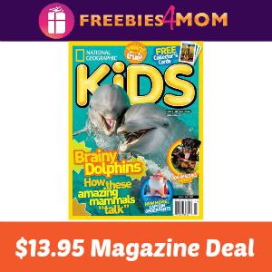 Magazine Deal: National Geographic Kids $13.95