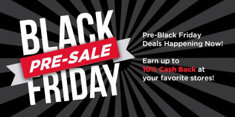 Pre-Black Friday Holiday Sale