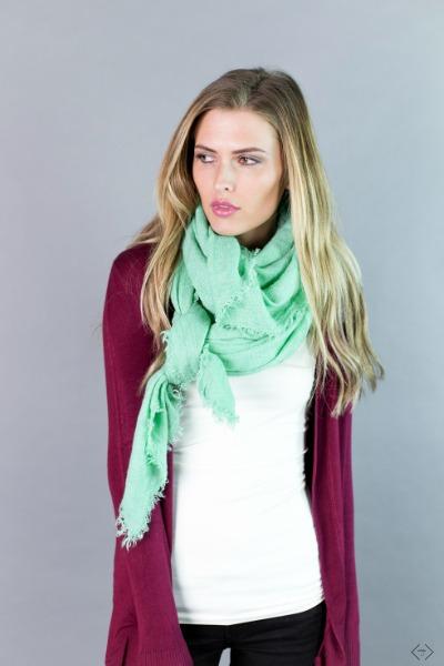 Solid Blanket Scarves $12.95
