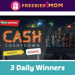Sweeps O'Reilly Auto Parts Cash Countdown