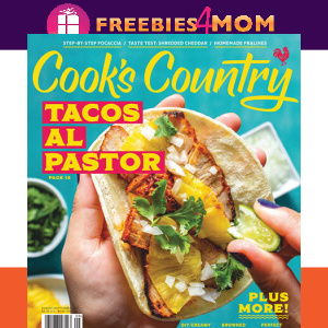 🥘 Cook's Country Magazine $9.95