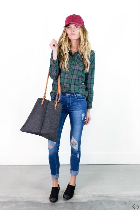 40% off Flannel Tops
