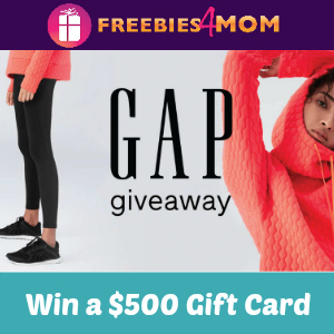 Sweeps Gap Giveaway (Win a $500 Gift Card)