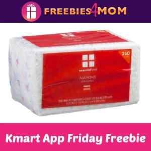 Free Napkins at Kmart