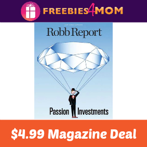 Magazine Deal: Robb Report $4.99