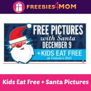Free Santa Pictures + Kids Eat Free at Cabela's