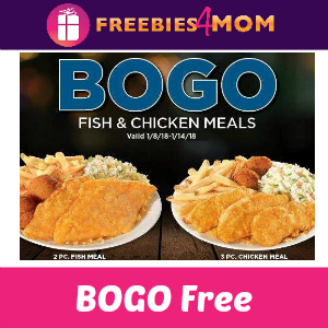 BOGO Free Fish or Chicken at Long John Silver's