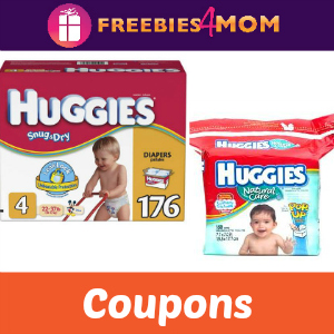 Coupons: Huggies Diapers & Wipes