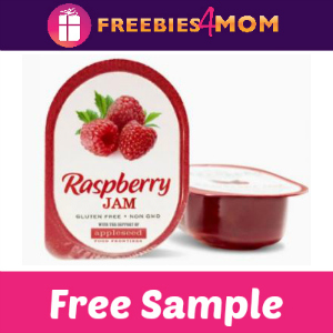 Free Sample Appleseed Raspberry Jam