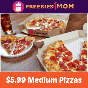 Pizza Hut $5.99 Pizza Deal