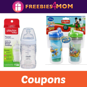 Coupons: Save on Playtex Baby Bottles & Cups
