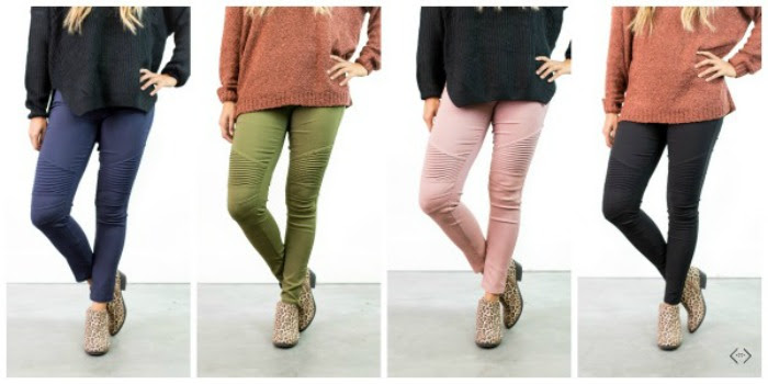 Moto Jeggings from Cents of Style