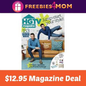 Magazine Deal: HGTV $12.95