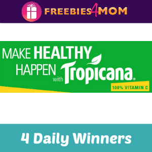 Sweeps Tropicana Make Healthy Happen