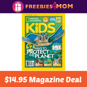 Magazine Deal: National Geographic Kids $14.95