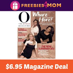 Magazine Deal: O, The Oprah Magazine $6.95