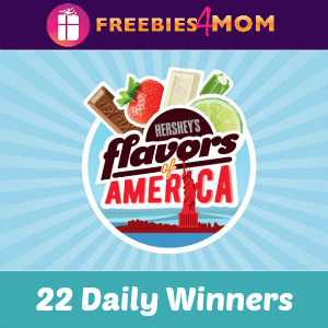 Sweeps Hershey's Flavor of America