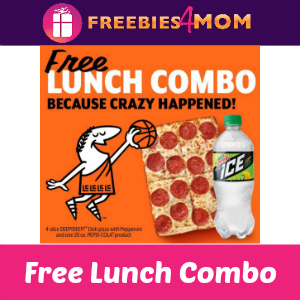 Free Little Caesars Lunch Combo April 2