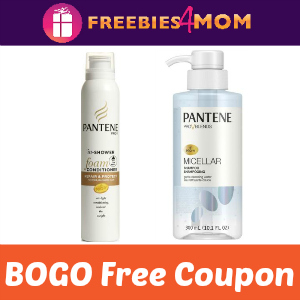 BOGO Free Pantene Shampoo or Conditioner