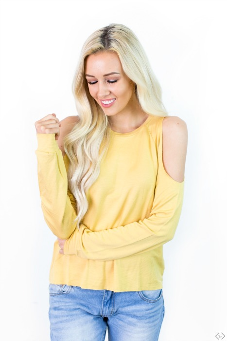 35% Off Detail Tops + Free Earrings on Friday