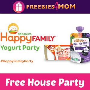 Free House Party: Happy Family Yogurt