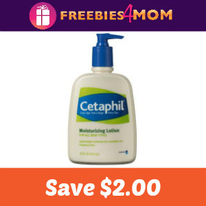 Coupon: Save $2.00 on any Cetaphil