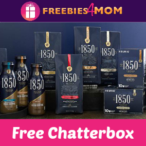 Free Chatterbox: 1850 Brand Coffee