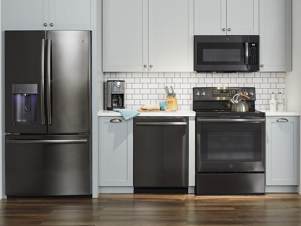 Black Stainless Steel GE Appliances at Best Buy