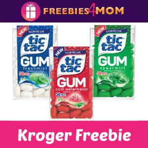 Free Tic Tac Gum at Kroger