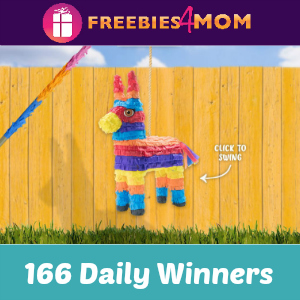 Sweeps Mission Pinata Game (166 Daily Winners)