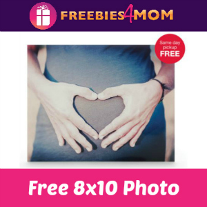 Free 8x10 Photo at CVS ($3.99 Value)
