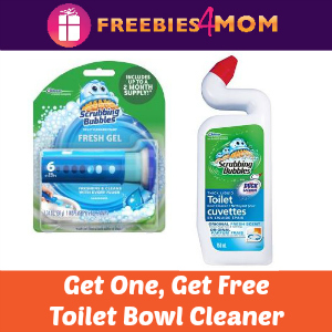 Free Scrubbing Bubbles Toilet Bowl Cleaner