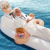 KFC Floatie