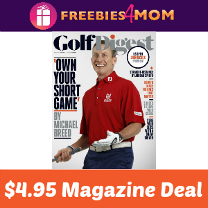 Magazine Deal: Golf Digest $4.95