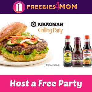 Free Kikkoman Grilling Party