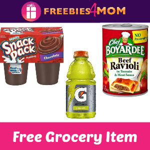 Free Grocery Item at Kmart (Your Choice on List)