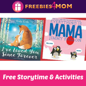 Free Mother's Day Storytime at Barnes & Noble