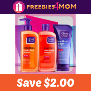 Coupon: Save $2.00 on any Clean & Clear product