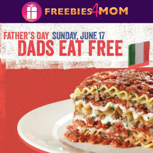 Dad's Eat Free at Spaghetti Warehouse Sunday