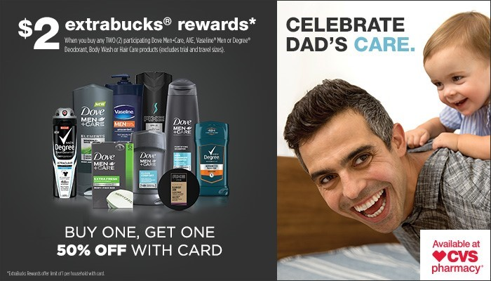 Dove Men+Care Deal at CVS for Father's Day