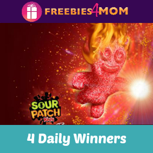 Sweeps Sour Patch Kids Fire and Freeze