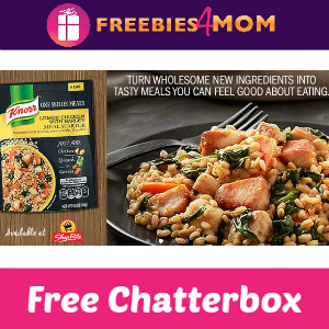 Free Chatterbox: Knorr One Skillet Meals